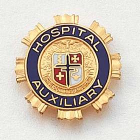 Stock Auxiliary Lapel Pin – AHA Logo Design #117