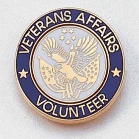 Veterans Affairs Volunteer Lapel Pin #160