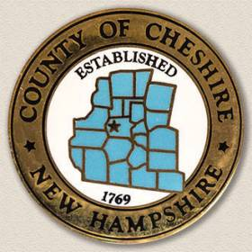 County of Cheshire Lapel Pin #2003