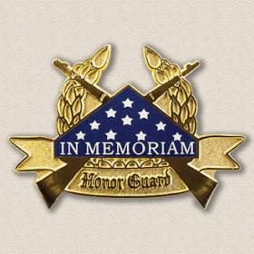In Memorium Honor Guard Lapel Pin #2005