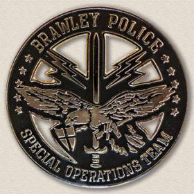 Brawley Police Special Operations Lapel Pin #2006
