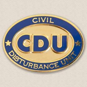 Manassas Police Department CDU Lapel Pin #2007B