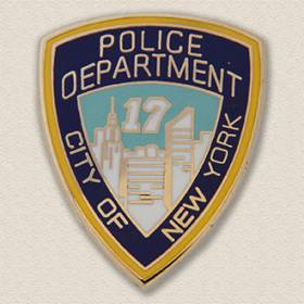 Custom Police Pin – Shield Design #2010