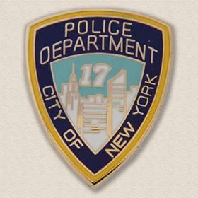 Custom Police Pin – Shield Design #2010