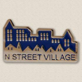 Custom Association Pin – Village Design #2025