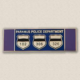 Custom Police Bar Pin – Badge Design #2026