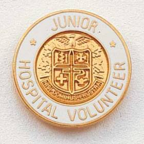Junior Hospital Volunteer Lapel Pin #208