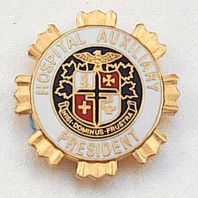Hospital Auxiliary President Lapel Pin #211