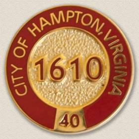 City of Hampton Lapel Pin #3004