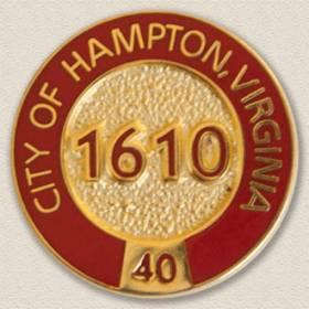 City of Hampton Lapel Pin #3004