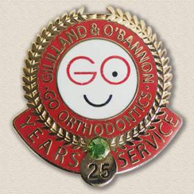 Orthodontist's Office Years Service Pin #4000