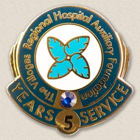 The Villages Regional Hospital Auxiliary Foundation Lapel Pin #4001
