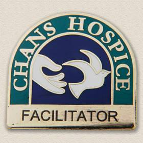Custom Hospice Pin – Dove Design #4011