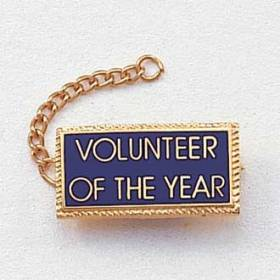Employee & Volunteer of the Year/Month Lapel Pin #471
