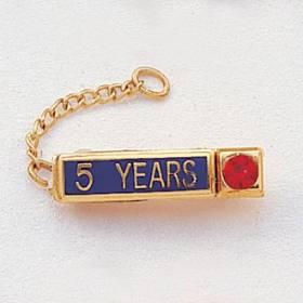 Year Bar Attachment with Gem #482-Y