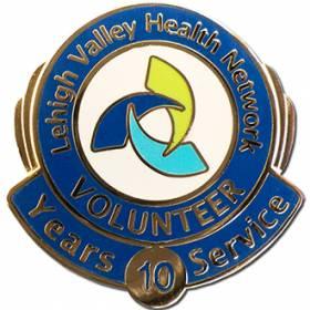 Lehigh Valley Health Network Volunteer Lapel Pin #5002