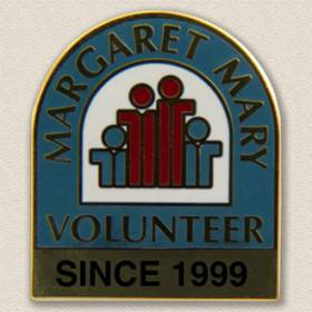 Margaret Mary Volunteer Lapel Pin #5008