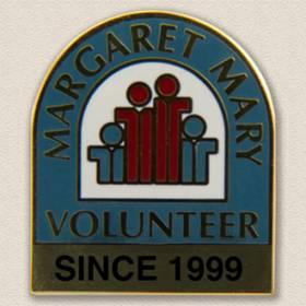 Margaret Mary Volunteer Lapel Pin #5008