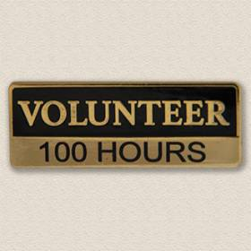 Custom ID Badge Holder – Volunteer Design #5016