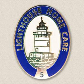 Custom Home Care Pin – Lighthouse Design #5033