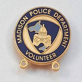Custom Volunteer Lapel Pin #556