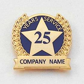 Semi Custom Lapel Pin – Years of Service Style #623