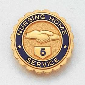 Stock Nursing Lapel Pin – Hands Design #636