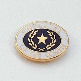 Employee of the Month Lapel Pin #646
