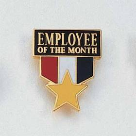 Employee of the Month Lapel Pin #647