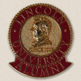 Custom College/University Lapel Pin – Lincoln Design #7003