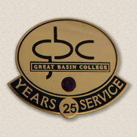 Custom College/University Lapel Pin – College Logo Design #7007