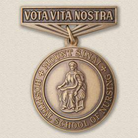 Custom School Pin – Nursing Design #7013