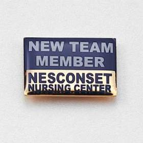 Custom Nursing Lapel Pin – Team Member Design #716