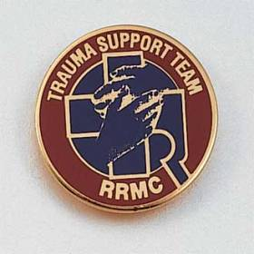 Custom Healthcare Lapel Pin – Trauma Support Design #720