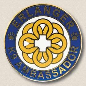 K9 Ambassador Lapel Pin #8001