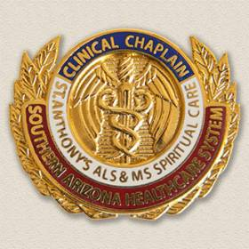 Southern Arizona Healthcare System Clinical Chaplain Lapel Pin #8008