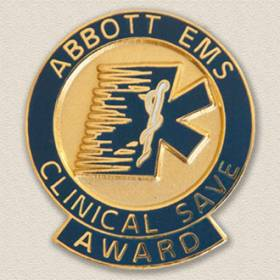 Abbott EMS Lapel Pin #8013