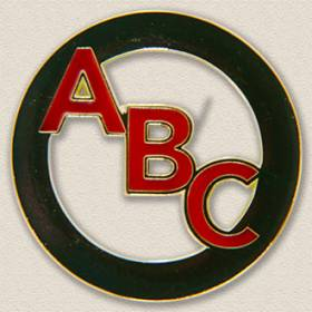 Carle Foundation ABC Lapel Pin #8016