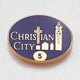 Custom Assisted Living Lapel Pin – Building Design #853
