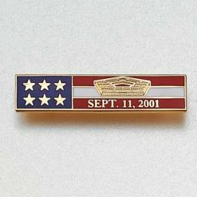 Custom Police bar Lapel Pin – Pentagon Design #872