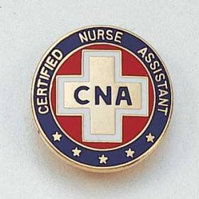 Stock Nursing Lapel Pin – Cross Design #880