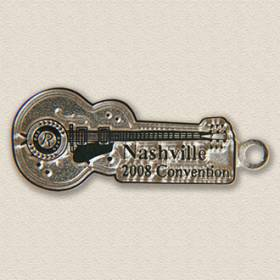 Custom Special Event charm – Guitar Design #9009