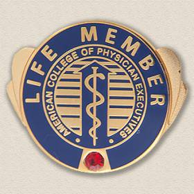 Custom Association Pin – Caduceus Design #9027