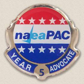 Custom Political Action Committee Pin – Advocate Design #9038