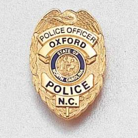 Custom Police Lapel Pin – Officer Badge Design #946
