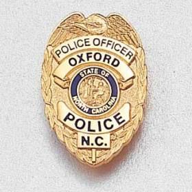 Custom Police Lapel Pin – Officer Badge Design #946