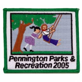 Custom Anniversary Embroidered Patch – Parks Design #CE-4
