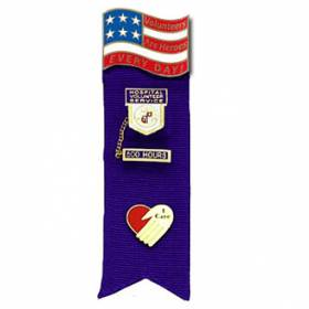Stock Ribbon Pin Holder – Heroes Style #F101