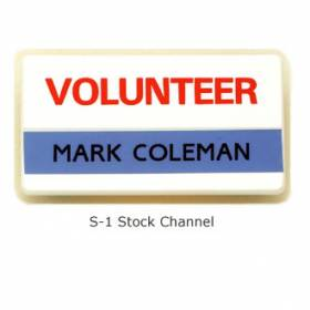 Stock Channel Name Bar Badge #S-1