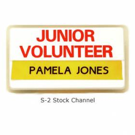 Stock Channel Name Bar Badge #S-2